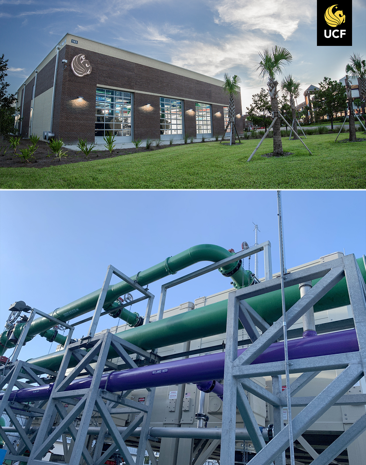Reclaimed Water Comes To District Energy Plant IV