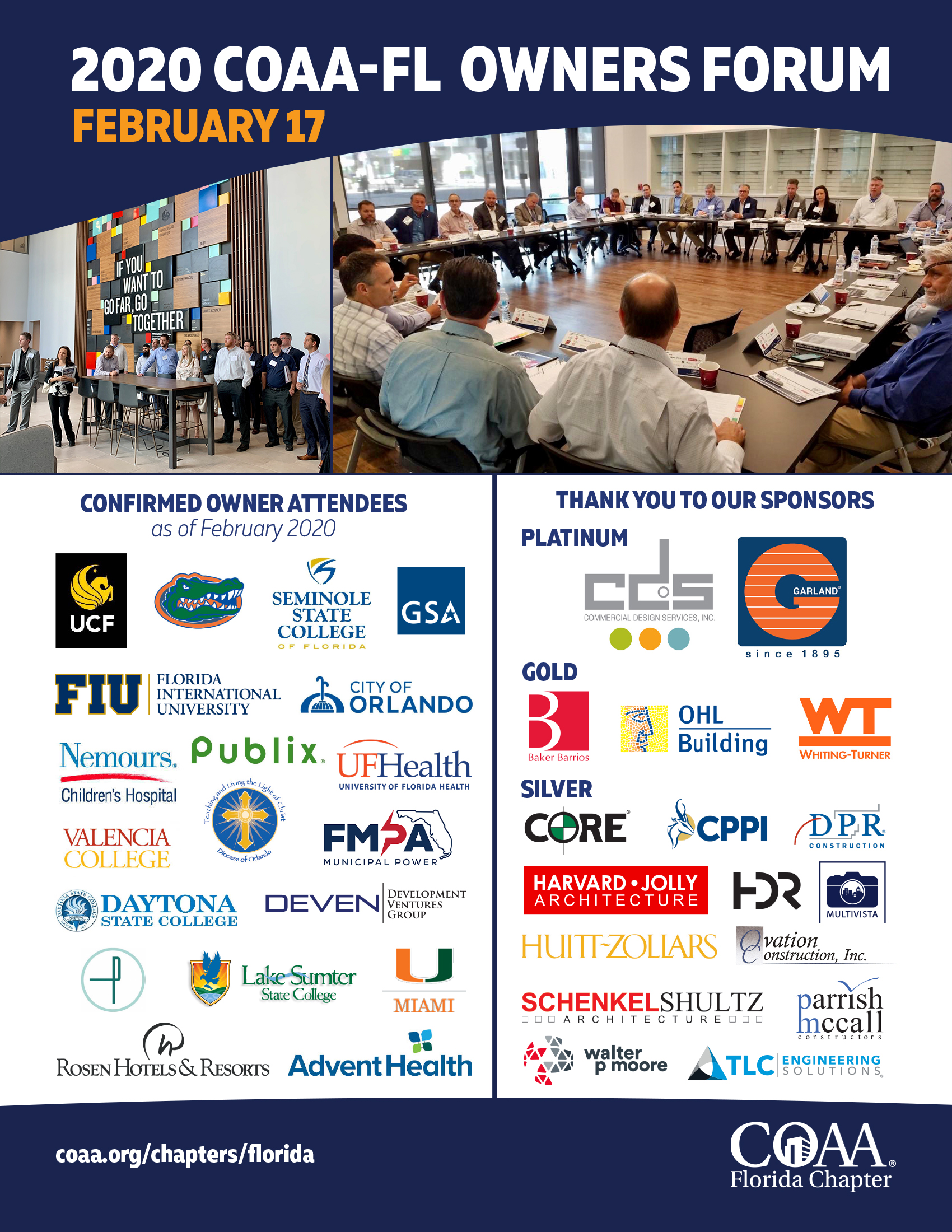 COAA-FL Owners Forum A Great Success