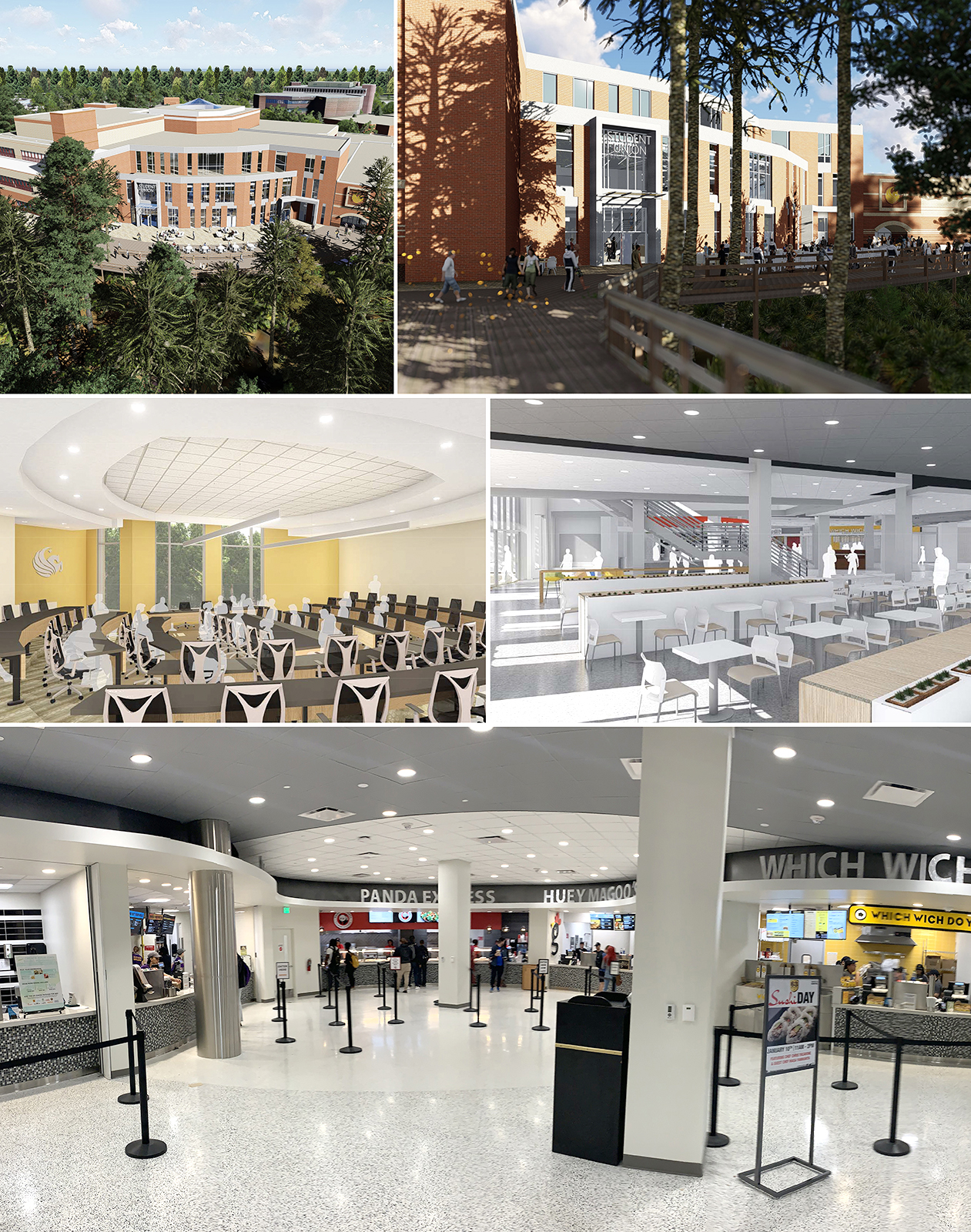 Student Union Food Court Open!
