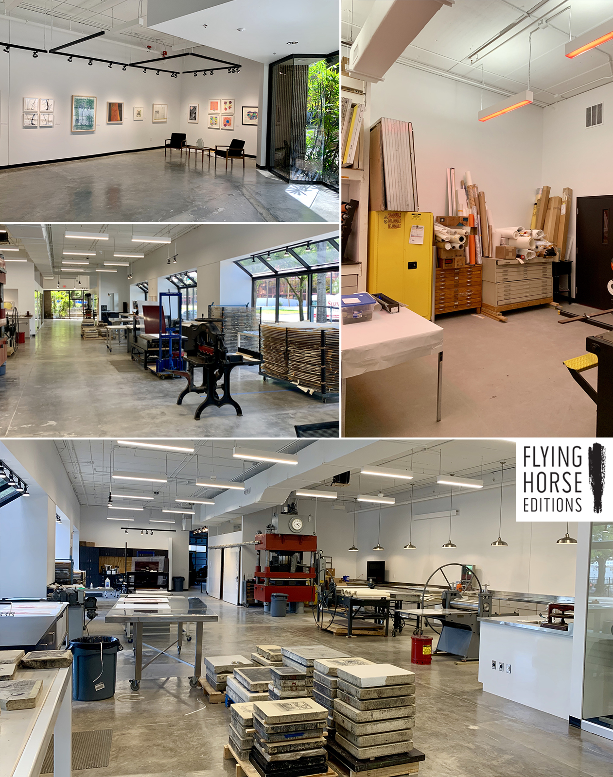 Flying Horse Editions Renovation Complete