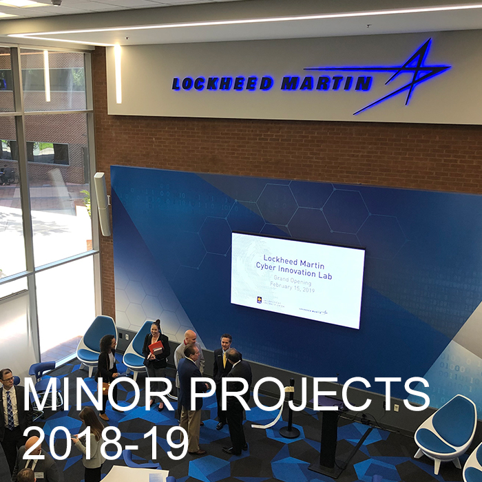Minor Projects 2018-19